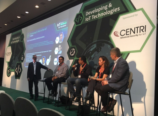 Donna Yasay, HomeGrid Forum President, on the 'interoperability as the key to success' panel