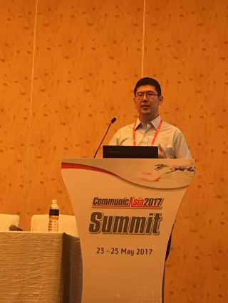 I represented HomeGrid Forum and spoke alongside Zowee Technologies on 'G.hn: The next step in smart home networking'.